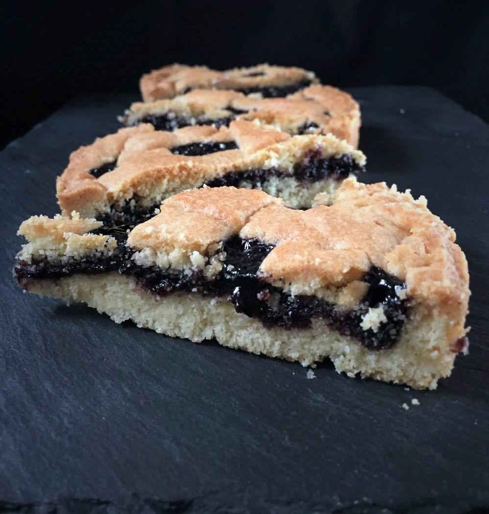 Crostata alla Confettura di More – ricetta Pasta Frolla