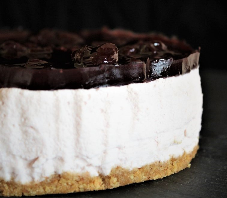 Cheesecake con Visciole