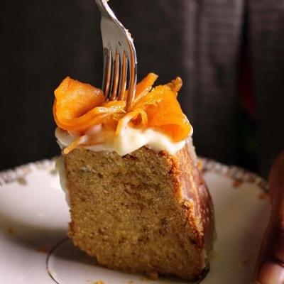 Bundt cake arancia e zucca