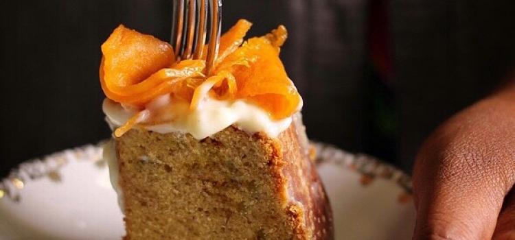 Bundt cake arancia e zucca caramellata