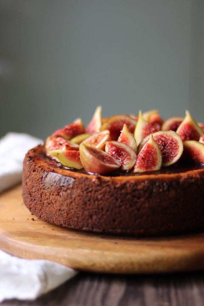 Cheesecake fichi e ricotta 1