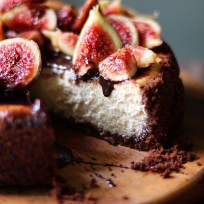Cheesecake fichi e ricotta 2