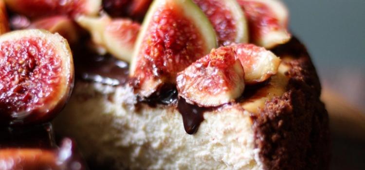 Cheesecake fichi e ricotta