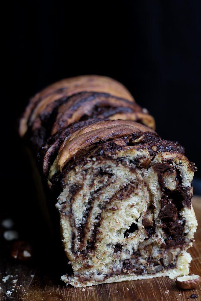 Babka cioccolato e nocciole 1