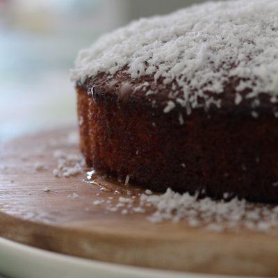 American Coconut Cake - torta cocco e miele