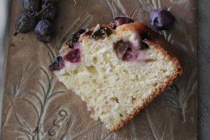 Torta di uva fragola 1
